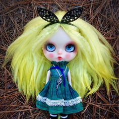 """Alice"" - Custom Blythe Doll #31. Now available for adoption."