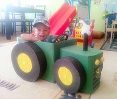 #erayinetkinlikdunyasi diy cardboard tractor