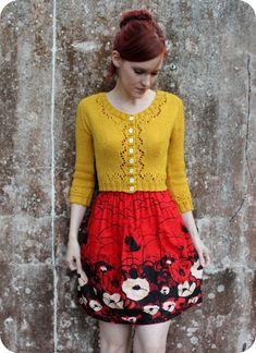 The Happiest Cardigan In My Closet   Kollabora #DIY #knitting