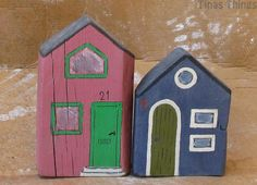 Small houses of wood