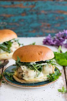 Meatball-burger med masse ost – Ida Gran-Jansen