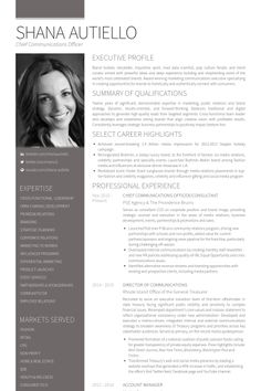 Communications Resume Template Best Search Results For Resume  Resume Examples  Pinterest .