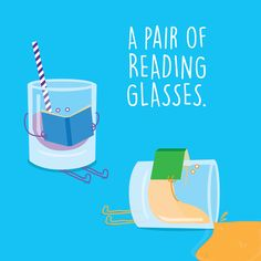 WHAT DO YOU CALL a couple of book-loving cups?  Palm Valley Pediatric  Dentistry
