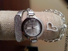 Origami Owl Watch. <3 Join my team and get yours free! Amazing jewelry, awesome company. Start your own home based business. Contact me at sue.storytellingcharms@gmail.com for more info :)