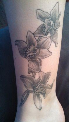 My cymbidium orchid tattoo :)