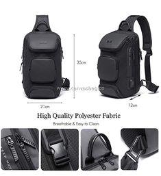 Hippie Sling Bag (3) Sling Backpack, Leather Bag, Backpacks, Canvas, Fabric, Bags, Tela, Tejido, Handbags