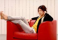 Voice Actor, Bean Bag Chair, The Voice, Japanese, Actors, Guys, Candy, Japanese Language, Beanbag Chair