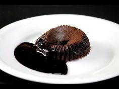 Choco Lava Cake - a dessert that everybody love and makes quite a sensation every time. It's rich, chocolaty, with a gooey molten center, one of the best cho. Choco Lava, Chocolate Lava Cake, Byron Talbott, Sanjeev Kapoor, Lava Cakes, Warm, Breakfast, Youtube, Desserts
