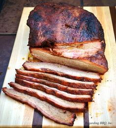 A Step-by-Step Guide to the Best Smoked Brisket Pork Brisket, Beef Brisket Recipes, Smoked Brisket, Pulled Pork Recipes, Barbecue Recipes, How To Make Barbecue, Bbq Steak, Smoking Recipes, Smoking Meat