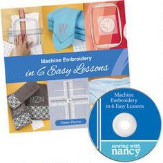 Machine Embroidery in 6 Easy Lessons/Eileen Roche/Blog Tour | Nancy Zieman Blog