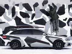 Audi Sweden has just released a limited edition A4 Jon Olsson Camo Avant Edition, inspired by the beastly RS6 Wagon driven by pro-skier Jon Olsson at the Sochi Winter Olympic Games