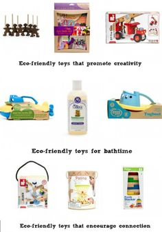 Eco-friendly toys from @terra