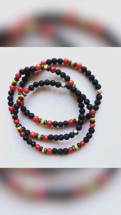 Beaded Jewelry Designs, Bracelet Designs, Beaded Necklace, Beaded Bracelets, Etsy Jewelry, Bohemian Jewelry, Stretch Bracelets, Bracelet Set, Fashion Bracelets
