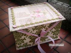 {Mon cartonnage} 茶包茶點收納布盒 Teabags storage box - Bonjour! Ca va? La vie est belle? - Yahoo!奇摩部落格