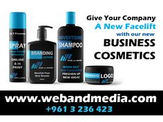 Give your new company a NEW FACELIFT with our new BUSINESS COSMETICS. +961-3-236-423