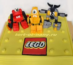 Торт Лего Миксели - Lego Mixels cake