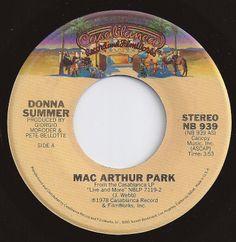 Mac Arthur Park / Donna Summer / #1 on Billboard 1978