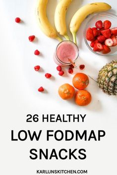 26 healthy low FODMAP snacks (gluten-free and lactose-free) Fodmap Recipes, Diet Recipes, Healthy Recipes, Fodmap Diet, Low Fodmap, Fodmap Foods, Sin Gluten, 17 Day Diet, Nutrition