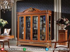 Living Room Display Cabinet, Luxury Dining Room, Luxury Furniture, China Cabinet, Storage, Home Decor, Purse Storage, Decoration Home, Chinese Cabinet