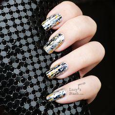 Lucy's Stash - Comet Trail foil nails