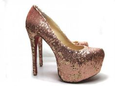 2012 Christian Louboutin Shoes Copper Beads... HELLO THERE