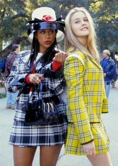 Would love to wear these outfits!  This film is such an important part of '90s fashion culture.