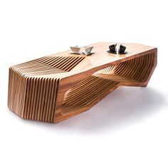 Mesa W by Constructo Digital, Santurce, Puerto Rico. Made of Cedar wood, $3799 !!