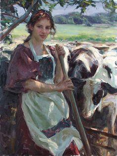 Daniel F. Gerhartz - Cowgirl?