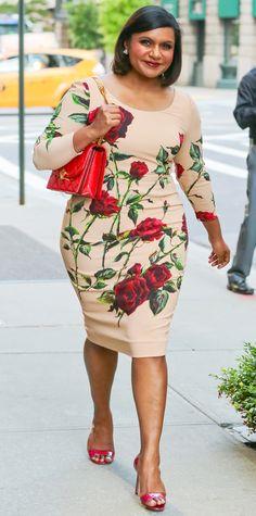 Mindy Kaling in Dolce & Gabbana