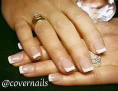 Acrylic French Manicure by Covernails Zoetermeer