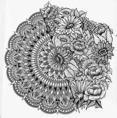 Perfect by @mandalablue ✨ ~ ✨ Tag us to be featured ~ ✨ Or use #mandala_universe ~ ~ follow @rainbowmandalas ~ ~ #mandala #mandalas #art #zentangle #patterns #lineart #artwork #doodles #drawings #mandalatattoo