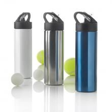 XD Design Sport bottle with straw. single wall stainless steel bottle with matt black PP cap with straw and easy drinking lid. Take Away Coffee Cup, Coffee To Go, Mini Bottles, Plastic Bottles, Foldable Water Bottle, Bamboo Cups, Hydration Bottle, Reusable Coffee Cup, Best Water Bottle