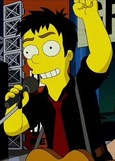 Billie in The Simpsons :D