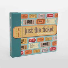 Save ticket stubs to every show, concert, and game that you see together.