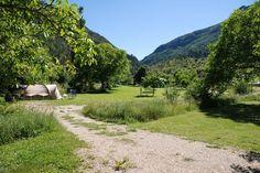 Aire Naturelle de Camping le Moulin de Pradelle Pradelle - Drôme Tourisme
