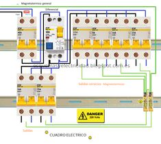 Electrical Diagram, Electrical Wiring, Electrical Engineering, Control Panel, Inventions, Physics, Diy And Crafts, Wire, Ss