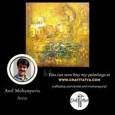 Famous Contemporary Artists, Original Artwork, Original Paintings, The Originals, Movie Posters, Crafts, India, Manualidades, Goa India