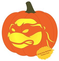 Free Pumpkin Stencils-Fun Halloween pumpkin stencils for kids. Easy pumpkin carving ideas for your Halloween decorations including Frozen's Elsa and Olaf, Mickey Mouse,  Dora, Mutant Ninja Turtles