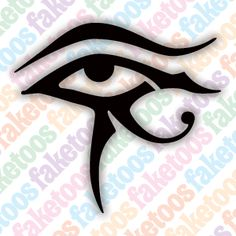 Eye of Horus stencil. X