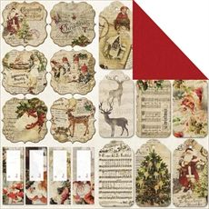Fabscraps - Christmas Joy - Christmas Tags