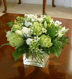 12 best white flower arrangements images in 2015 white flowers rh pinterest com white and green floral centerpieces green floral centerpieces wedding