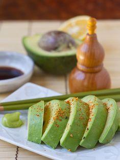 Avocado Sashimi