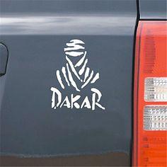 drôle mur de la fenêtre dakar voiture autocollant de voiture voiture décalcomanie style (1pcs) - CHF ₣ 2.15