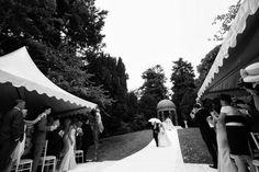 Outdoor ceremony in gardens of Dromoland Castle Ireland Wedding, Irish Wedding, Wedding Advice, Post Wedding, Fairytale Weddings, Real Weddings, Ashford Castle, West Coast Of Ireland, Industrial Wedding