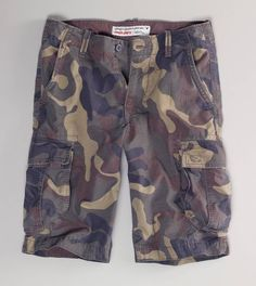 Spring/Summer wardrobe staple! Cargo shorts go with any color t-shirt or polo shirt and look great with a denim jacket!
