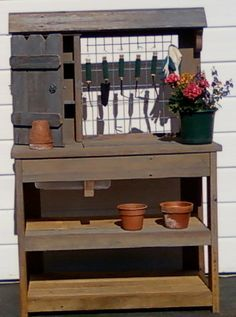 ideas gardening table - Google Search