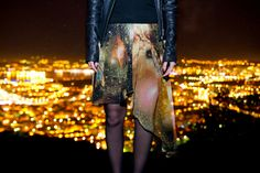 #galaxy #jupe #skirt #romwe #space #cosmic #galaxie