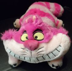 "$19.98/ Plush Cheshire Cat, stuffed animal from Disney's Alice in Wonderland measures 12"", not including the 8"" tail. A Disney Store Exclusive! ~~view more plush toys for youth/kids/children as well as over 20 categories of merchandise in my store SHIPPING is ALWAYS FREE in the USA; I ship globally! www.stores.ebay.com/Shellys-Sweet-Finds"