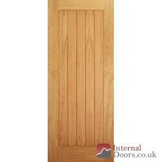 Internal Doors - If you are looking for an Suffolk Boarded Interior Oak Door click here £69.99