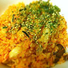 Kimchi fried rice - 105件のもぐもぐ - 김치볶음밥 / キムチチャーハン by Cheesywee